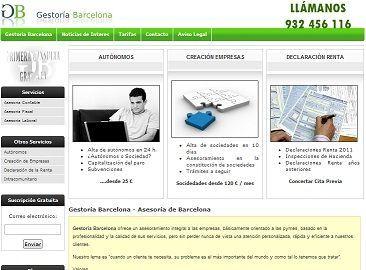 web empresarial corporativa
