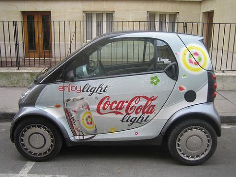 coche publicidad