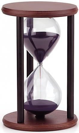 reloj arena trabajar menos