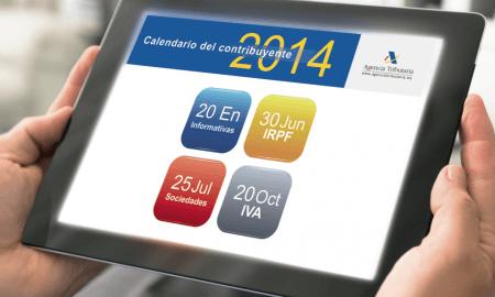 Conoce el calendario fiscal de enero para 2014