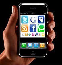 smartphones redes sociales