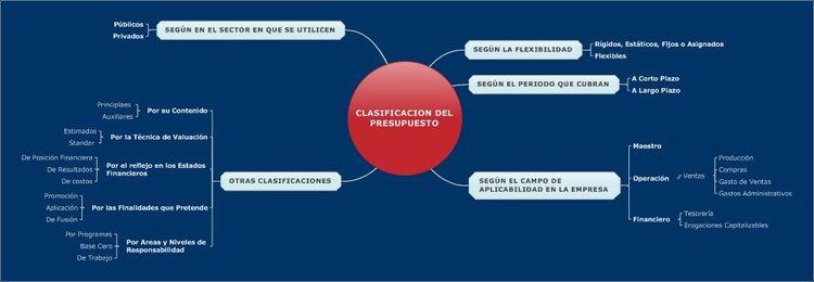 CLASIFICACION DEL PRESUPUESTO