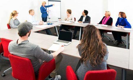 Large meeting