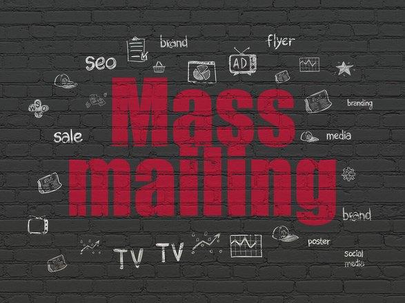 como mandr correos masivos