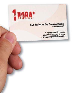 Las tarjetas de visitas personales