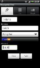 aplicacion gastos smartphone