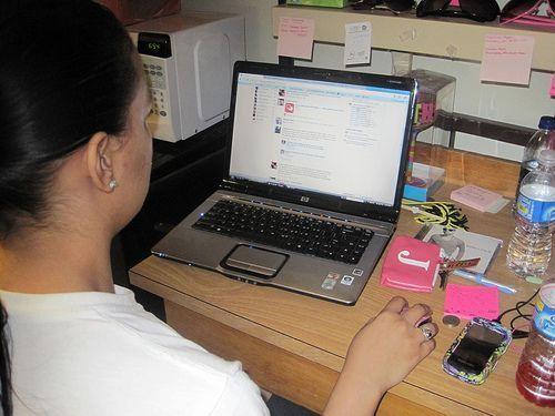 Busqueda de trabajo en las redes sociales
