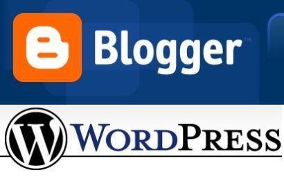 wordpress o blogger blog
