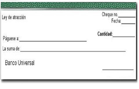 pago con cheque