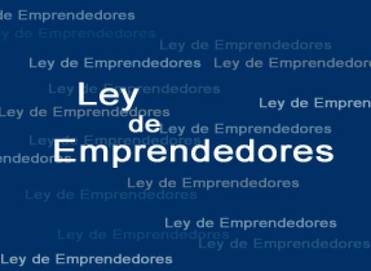 ley emprendedores