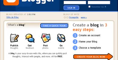 blog gratis blogger