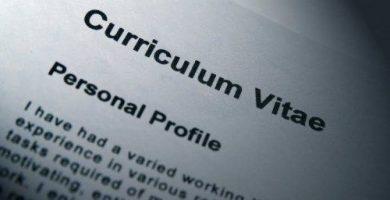 curriculum vitae de repuesto