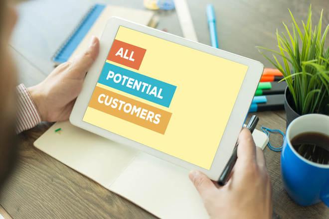 clientes potenciales y actuales
