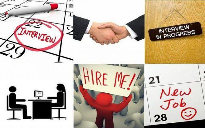 formulario para entrevista de trabajo