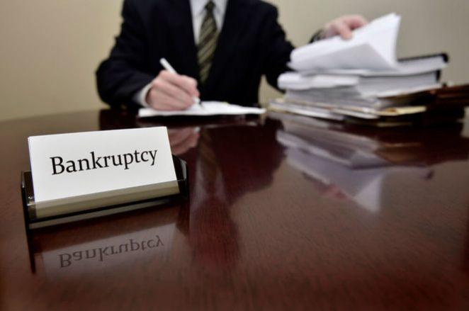 bancarrota significado